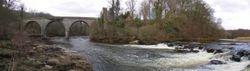 Milton Lockhart Mills sites panorama