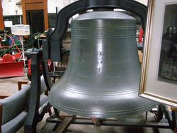 Large Cast Iron Bell