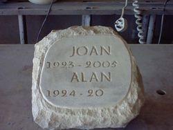 Portland pitched boulder memorial for forest burial