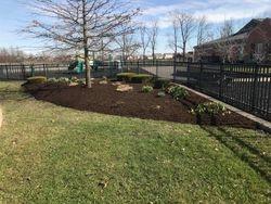 Fresh mulch - Thompson Crossing Elementary
