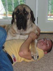 Chuckwagon loves his boy