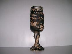 Camo Wine Glass