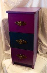 Purple drawers