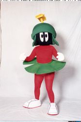 Marvin The Martian character costume recreation