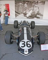 1967 Belgian GP winning Eagle V-12 driven by Dan Gurney