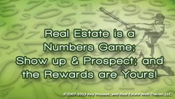 Real Estate is a Numbers Endeavor