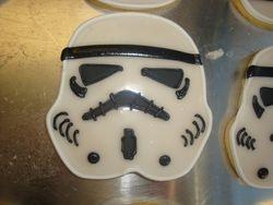 jumbo storm trooper sugar cookies $8