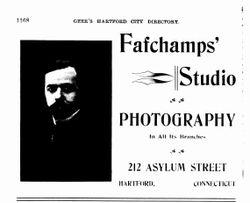 Fafchamps, Paul de, photographer, Hartford, CT
