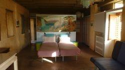 ground floor: big bedroom (children's favourite!)