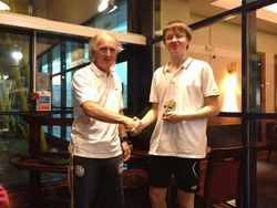 Runner Up Matthew Rees