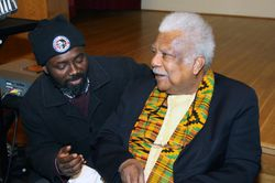Ali Mazrui Meeting at Howard