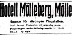 Hotell Molleberg 1947