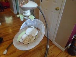 Fisher Price My Little SnugaPuppy Cradle 'n Swing - $75