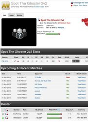 TC vs Spot the Ghoster (Opponent team page)