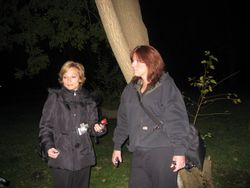 Sharon and Cathy