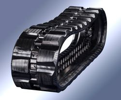 Block Staggered Tread Compact Loader Tracks
