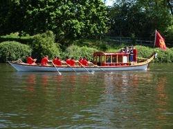 Royal barge!