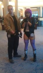 Batou and Major Motoko Kusanagi