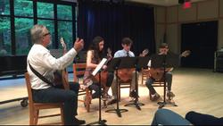NMS Guitar Quartet, May 2016.