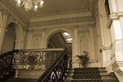 Inside Werribbe Mansion