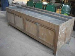 #13/251 Zinc Tray Top Cabinet SOLD