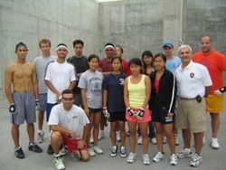 New Jersey three wall handball courts.