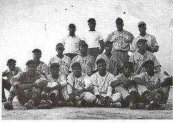 Ninety Six Mill Negro baseball team