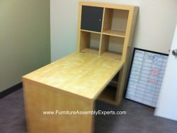 ikea expedit desk installation service burke va