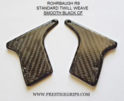 ROHRBAUGH R9 SMOOTH MATTE BLACK CF