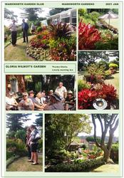 Gloria Wilmot's garden