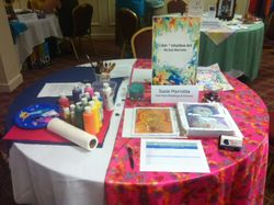 Expo table set up