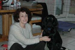 pat and dog