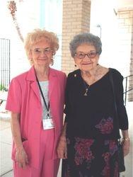 Doris Wilkinson and Doris Yahn