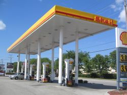 York Shell Gas Station, Elmhurst