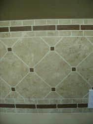 Faux tile - close-up