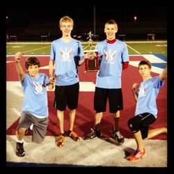 Boys 4x400 Myrhum Champs