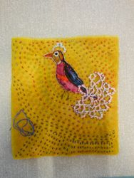 Viv's Kantha Bird