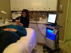 Hydra Facial MD in Action