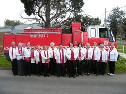 Whittlesea 2 Fire Truck photo reshoot June 2013