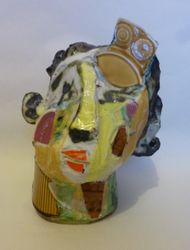 Mary Jones Ceramics.    Butterflies and teacakes.  SOLD
