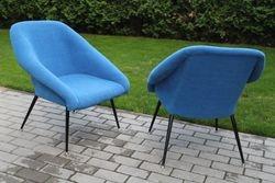 Restauruotas foteliukas, 1968 m. GDR. LIKO VIENAS.  Kaina 187
