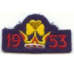 1953 Coronation Badge