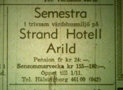 Strand Hotell (Nya hotellet) 1964