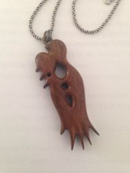 pendant - black walnut