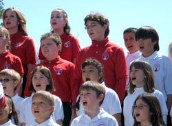 Concert & Apprentice Choir together