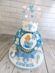 Cinderella Giant Cupcake