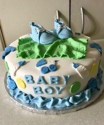 Baby Boy Booties
