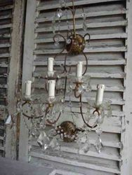 !2/305 Pair of Italian Wall Sconces SOLD