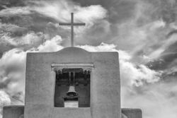 San Miguel Mission by Marilyn Lamoreaux (AC)