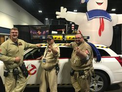 the CAT5 Ghostbusters